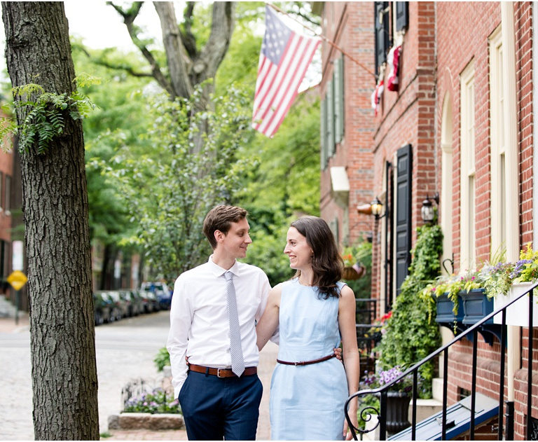 Engagement Session in Society Hill